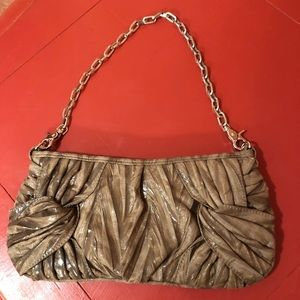 Squared by Sondra Roberts Chain Handle Clutch